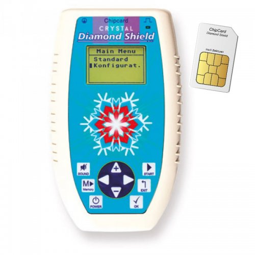 Multifrequenz Zapper Diamond Shield Crystal