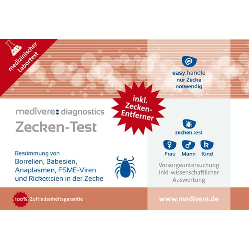 zeckentest borreliose test testosterontest g nstig online kaufen. Black Bedroom Furniture Sets. Home Design Ideas