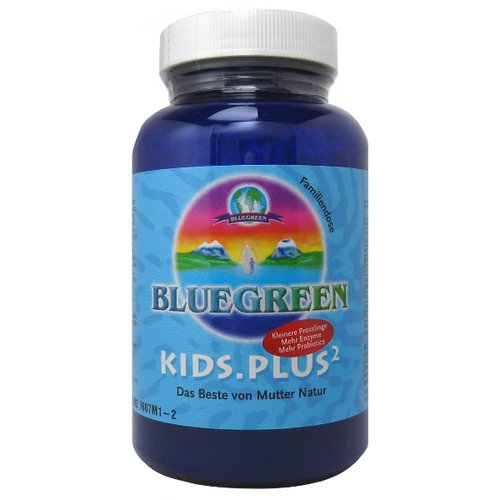 Bluegreen Kids.Plus2, 120 Presslinge