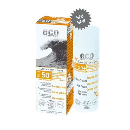 Eco Surf&Fun Sonnencreme LSF50+