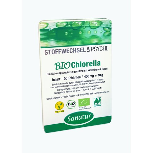 Bio Chlorella Tabletten 100 St.